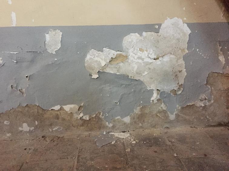 Assèchement murs humide